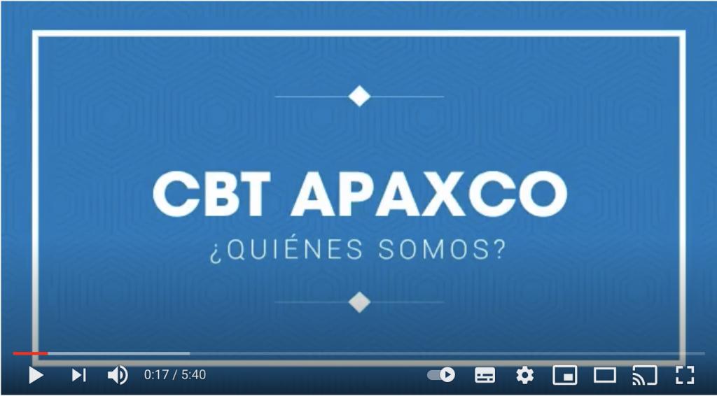 Video CBT Apaxco ¿Quiénes somos?